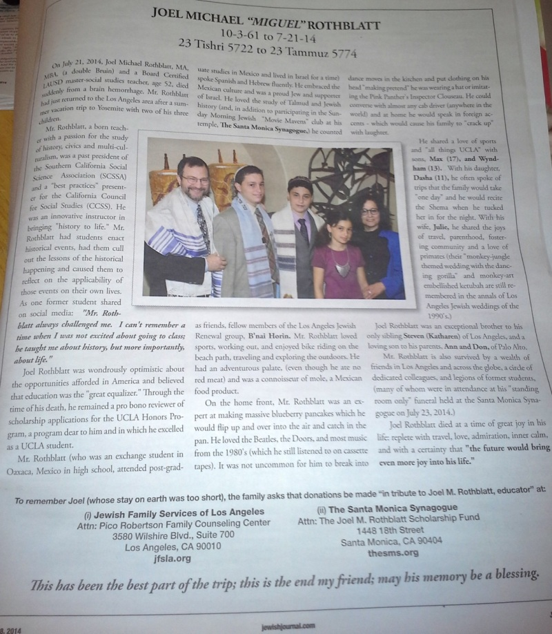 Rothblatt Jewish Journal
